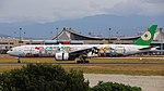 EVA Airways (Hello Kitty Sanrio Family livery), Boeing 777-300ER, B-16703 - TPE (36358191660).jpg