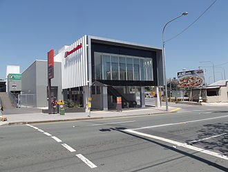 Eagle Junction railway station - Station front in October 2012