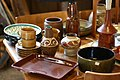 Earthenware pottery for sale 2007.jpg