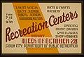 East High, West Junior, North Junior, Woodrow Wilson Recreation Centers LCCN98512466.jpg