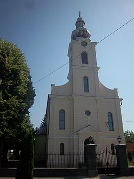 Eastern Catholic Church in Mikluševci Миклошевци.JPG