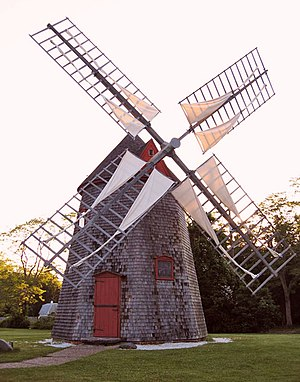 Eastham, Massachusetts - The Eastham Windmill
