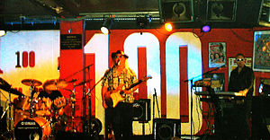 100 Club - Edgar Broughton Band on stage at the 100 Club in 2006