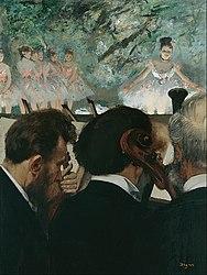 Edgar Degas: Orchestra Musicians