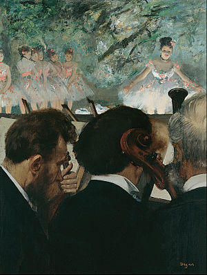 1872 in music - At the Ballet, 1872, by Edgar Degas