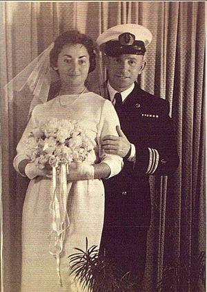 Edmond Wilhelm Brillant - Edmond Brillant and his wife Rosita Segal
