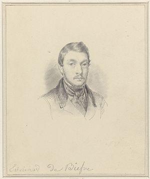Édouard De Bièfve - Self-portrait