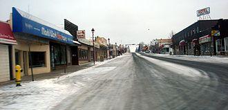 Edson, Alberta - Downtown Edson (50th Street)