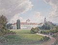 Eduard Gurk - Der Blaue Hof in Laxenburg bei Wien - ca 1838.jpeg