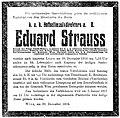 Eduard Strauss Todesanzeige death notice.jpg