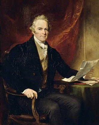 Edward Herbert, 2nd Earl of Powis - Powis in 1845, portrait by Francis Grant