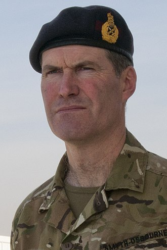 Edward Smyth-Osbourne - Maj. Gen. Edward Smyth-Osbourne in 2012