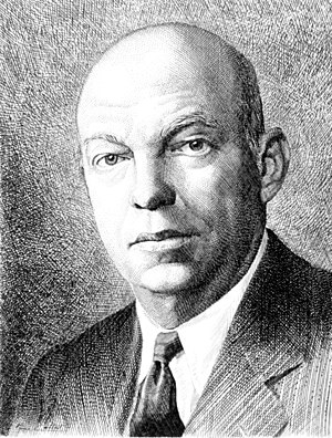 Edwin Howard Armstrong - Sketch of Armstrong, c. 1954