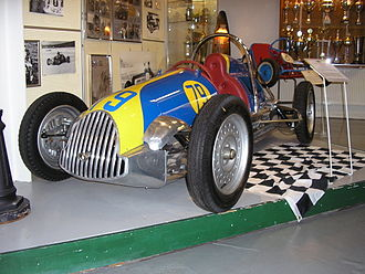 Formula Three - A typical early car, the Effyh 500 (1947–1952) was built in Malmö, Sweden and was one of the more successful cars. It had a lightweight tube chassis, aluminium bodywork and was powered by a 500cc 1-cylinder JAP engine.