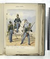 Egercito Español. Reg-to Reyna Gobernadora, No. 27 de infanteria- Commante, Corneta y Soldado de Cazadores (NYPL b14896507-90988).tiff