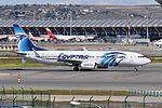 EgyptAir, Boeing 737-866(WL), SU-GDY - MAD (18642715230).jpg
