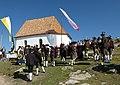 Einweihungsfeier der renovierten Raschötzer Kapelle über St. Ulrich in Gröden Schützenkompanie Wolkenstein.JPG