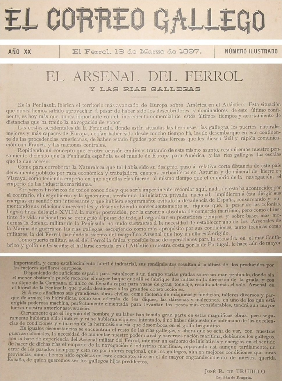 El Correo Gallego 1897