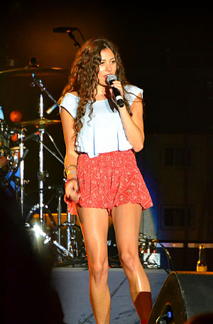 Eliza Doolittle (singer) - Doolittle in August 2011 performing at SkyFest