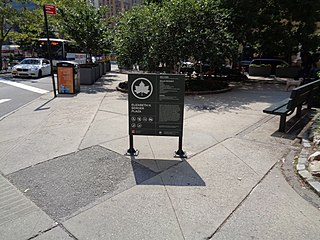 Elizabeth H. Berger Plaza Plaza in Manhattan, New York