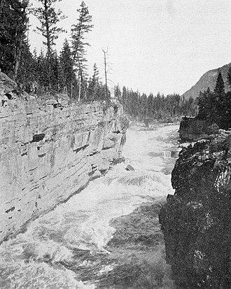 Elk River (British Columbia) - Elk River south of Elko, 1891
