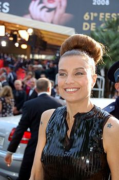 Elli Medeiros at the 2008 Cannes Film Festival