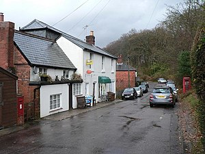 Emery Down - Image: Emery Down, the post office geograph.org.uk 625928