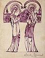 Emile Bernard 1900c Personnages sur fond d'église.jpg