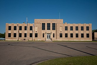 National Register of Historic Places listings in Emmons County, North Dakota - Image: Emmons County Courthouse 2009