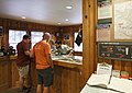 Employees working with Guests at Glacier Public Service Center, Mt Baker Snoqualmie National Forest (31736617020).jpg