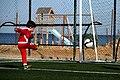 Enfant jouant au football, Sayada 2016 (01).jpg