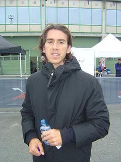 Enrico Toccacelo racecar driver