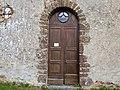 Entrée chapelle Saint-Benoist avec plaque ordre de Tiron Arrou Eure-et-Loir France.jpg