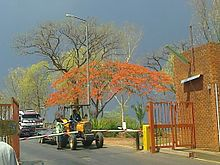 Entrance into Chinhoyi University of Technology.jpg