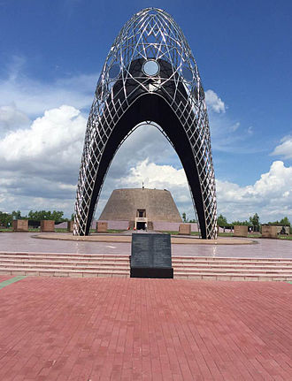 History of Kazakhstan - Entrance to Alzhir