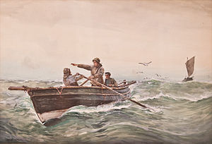 Ernest Dade - On the Fishing Grounds