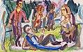 Ernst Ludwig Kirchner Picknick c1920.jpg