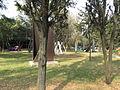 Esculturas en el jardín del Museo de Arte Moderno de la Ciudad de México 01.JPG