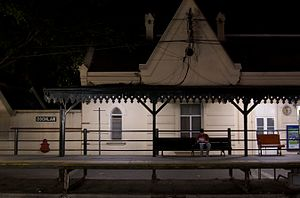 Coghlan, Buenos Aires - The Coghlan Train Station, from which the barrio gets its name