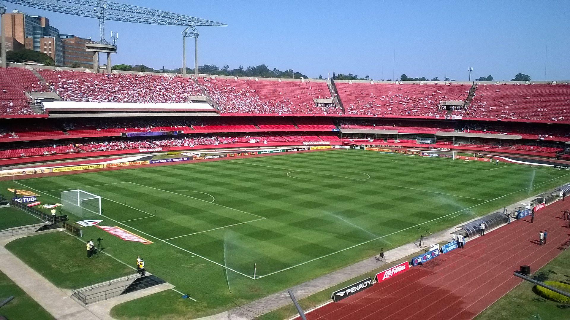 Estadio Morumbi, São Paulo, Brasil