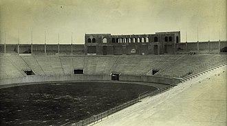 Estadio Nacional (Mexico) - Image: Estadio nacional 1926