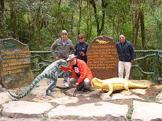 Rhynchosaur - Staurikosaurus and rhynchosaur.