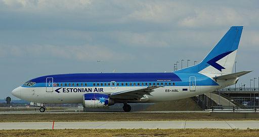 Estonian Air Boeing 737-500 ES-ABL Munich