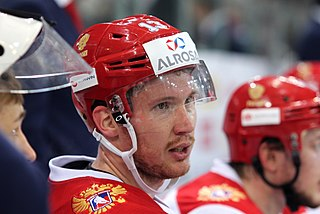 Roman Lyubimov Russian ice hockey player