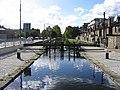 Eustace Lock, Grand Canal, Dublin - geograph.org.uk - 889619.jpg