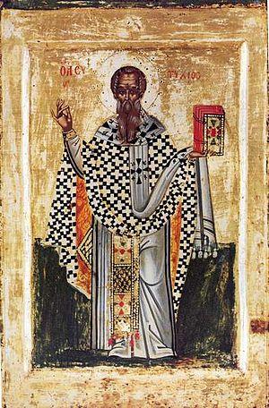 Eutychius of Constantinople - Patriarch Eutychius of Constantinople