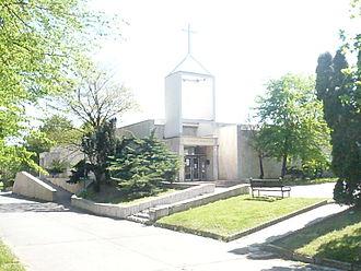 Community centre - Protestant Community Centre in Dúbravka, Bratislava (Slovakia).