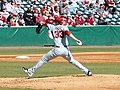 Evansville at Arkansas baseball, 2013 018.jpg
