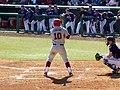 Evansville at Arkansas baseball, 2013 026.jpg