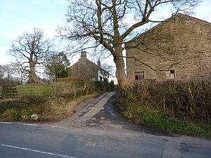 Listed buildings in Simonstone, Lancashire - Image: Eveson's Farm, Simonstone